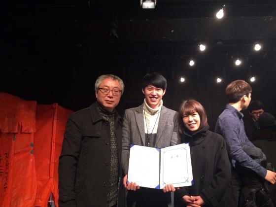 한국영상대 이관복, '연극 브릿지 페스티벌'에서 연기대상