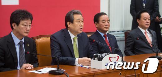 """[사진]김무성 """"성장은 최고의 해결책…밀물은 모든 배 띄워"""""""