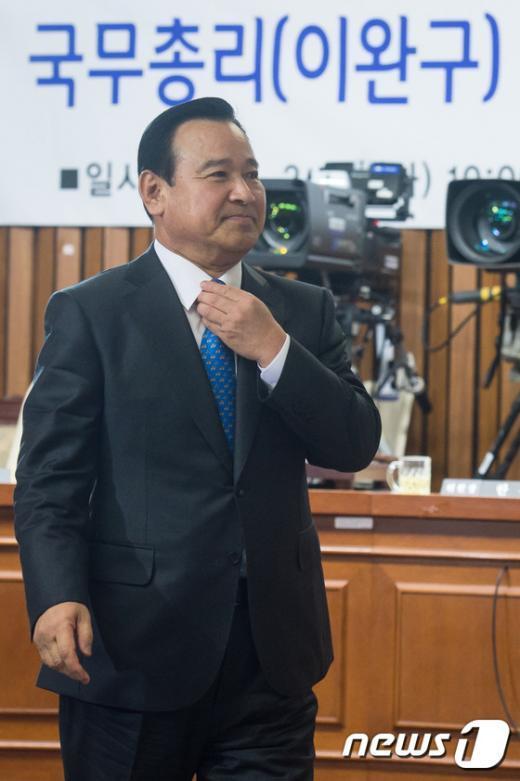 [사진]이완구 총리 후보자 '인사청문회 통과할까?'