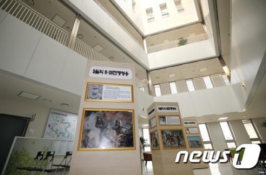 [사진]국가보훈처, 공공기관 최초 호국영웅광장 설치