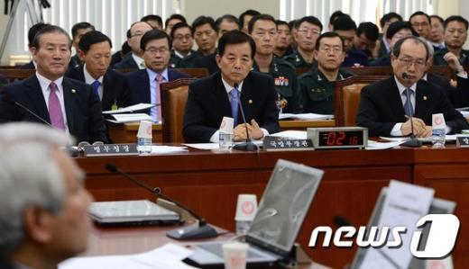 [사진]국회 국방위원회 전체회의