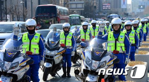 [사진]서울경찰, 교통불편 신속대응팀 발대식