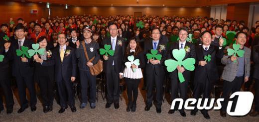 [사진]세잎클로버로 행복을 전해요!