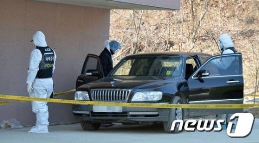 [사진]'화성 총기난사 범인의 차량에는 무엇이 있나?'