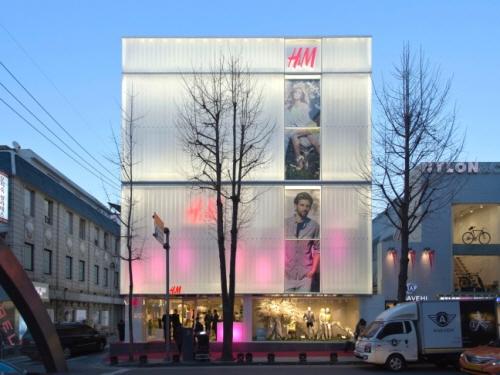H&M 가로수길 매장/사진출처=H&M 홈페이지
