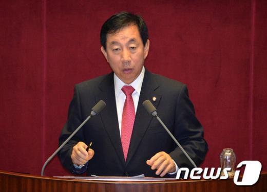 김성태 새누리당 의원 /뉴스1 © News1 박세연 기자