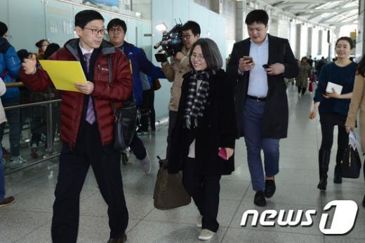 [사진]유럽 향하는 김영란 전 국민권익위원장