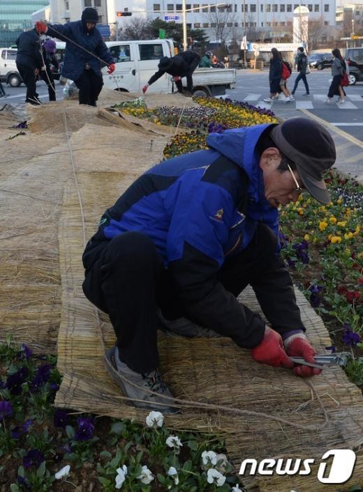[사진]'3월의 한파주의보 대비'