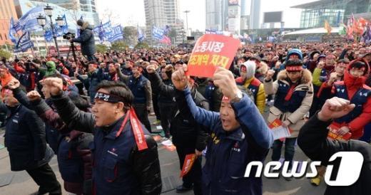 [사진]'노동자의 외침'