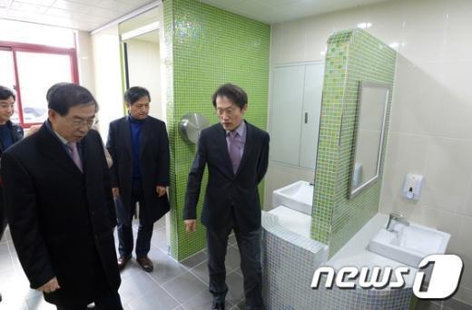 [사진]'화장실이 쾌적하네요'
