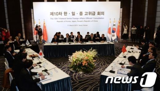 [사진]韓-中-日 고위급회의