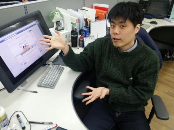 워니프레임의 박종원 대표 겸 작가/사진=워니프레임 제공