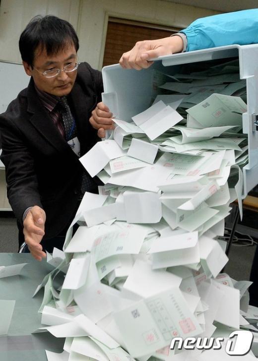 [사진]첫 전국동시조합장 선거 '뚜껑 열어보니'