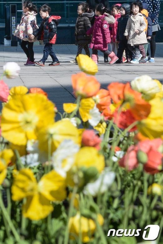 [사진]'꽃밭에 꽃들이...'