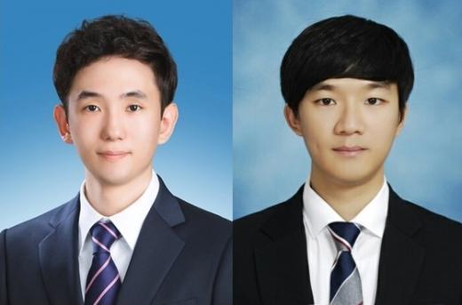 건국대 기계공학부 4년 신재민(좌)·박호빈 학생. © News1