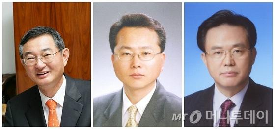 (왼쪽부터)이경수 회장, 김준배 대표, 김재천 대표/사진제공=코스맥스