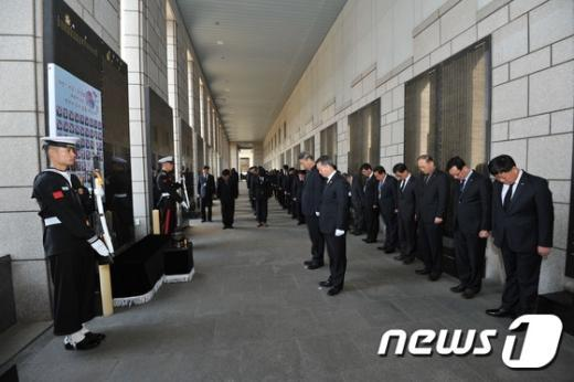 [사진]전쟁기념관 천안함 용사 5주기 추모행사