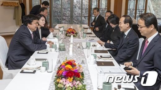 [사진]환경부, 중국임업국 협력 강화를 위한 양자회담 개최