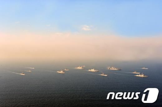 [사진]한미 해군·해병대 '결정적 행동' 상륙훈련 돌입