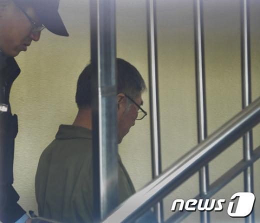 [사진]항소심 결심공판 앞둔 세월호 이준석 선장