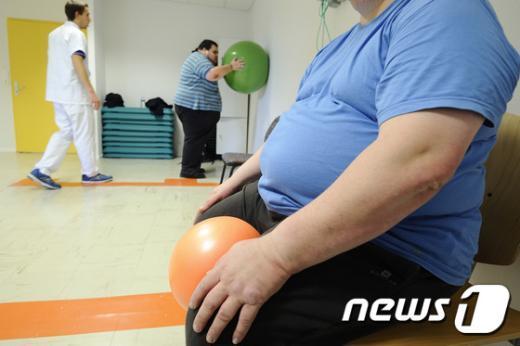 비만 남성./© News1
