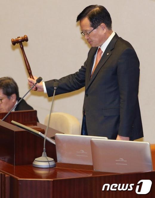 [사진]4월 임시국회 개회식