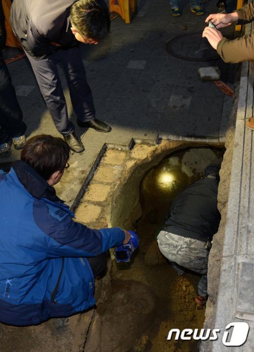 [사진]또다시 발생한 싱크홀