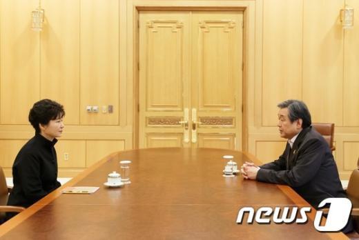 [사진]박근혜 대통령-김무성 대표 긴급회동