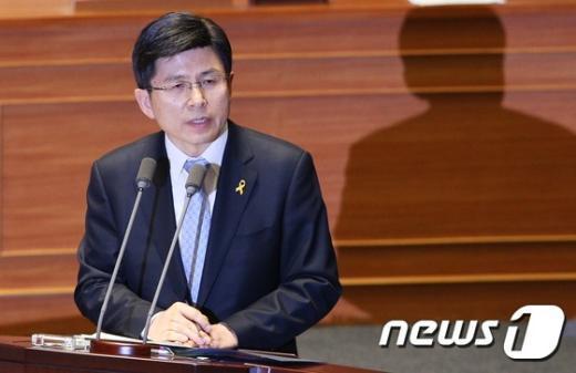 황교안 법무부장관. 2015.4.13/뉴스1 © News1 오대일 기자