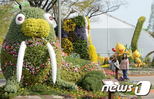 [사진]'고양으로 꽃 구경오세요'