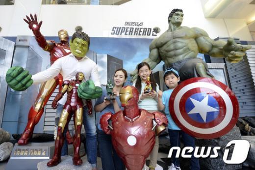 [사진]'슈퍼 히어로들 만나러 오세요'