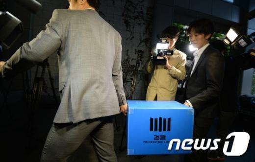 [사진]검찰 '경남기업 특혜의혹' 금감원 압수수색