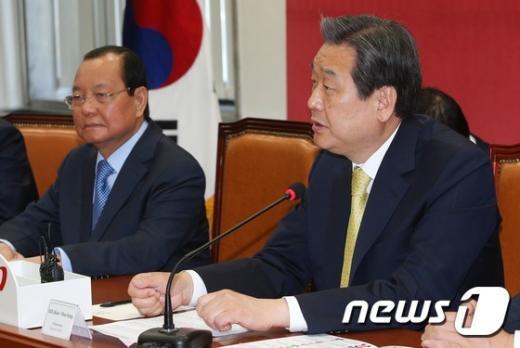 [사진]김무성, 베트남 호치민시 당서기 면담