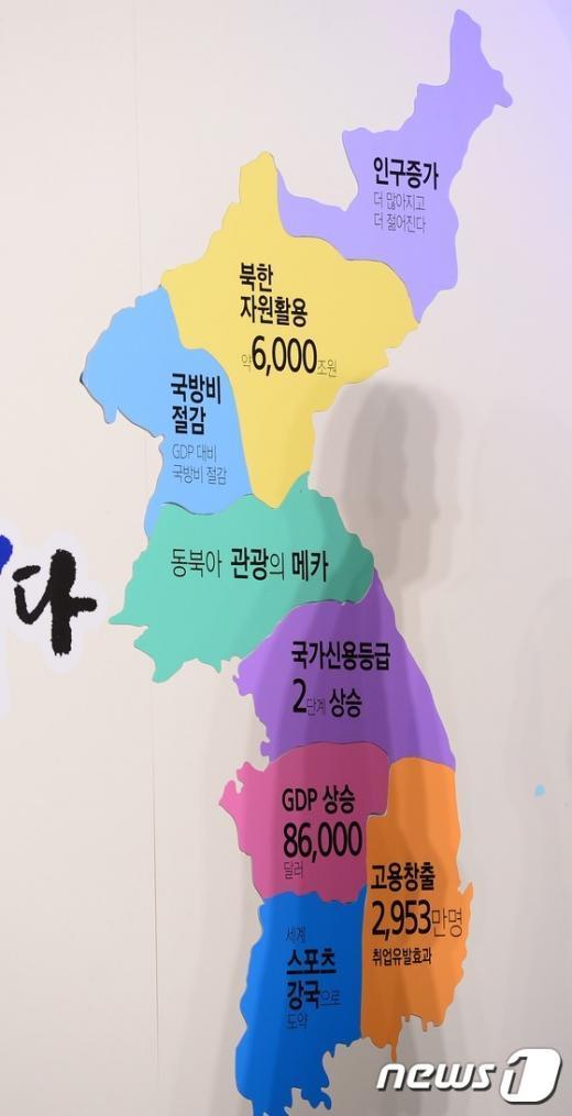 [사진]'이것이 통일 지도'