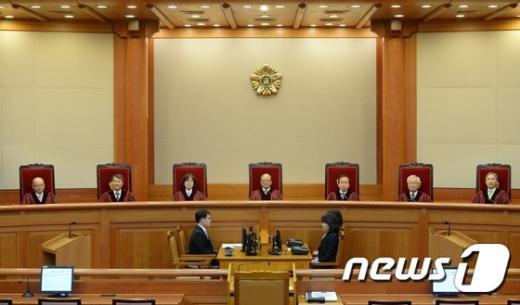 [사진]헌재 '전교조 법외노조 조항, 합헌'