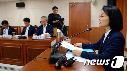 [사진]회의 주재하는 장옥주 차관