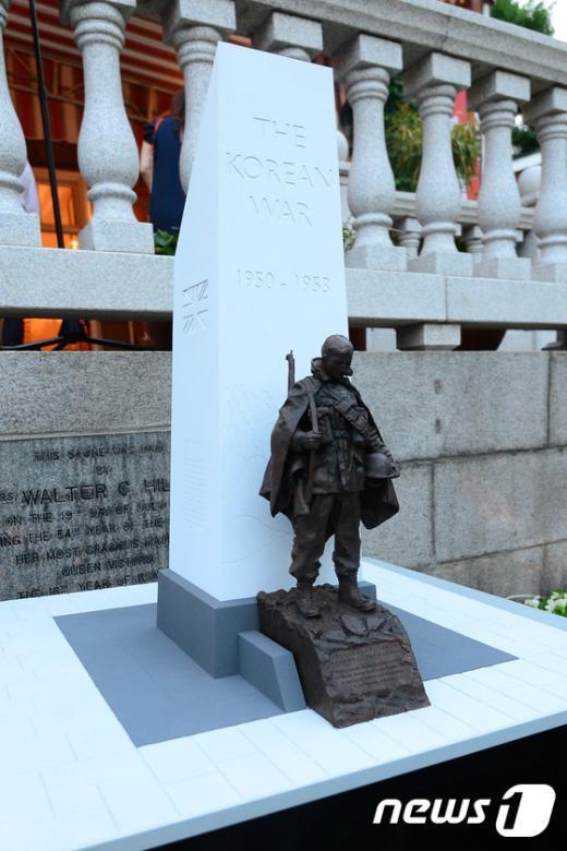[사진]한국전 참전 기념비 모형