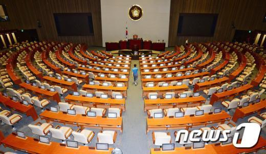 국회 본회의장./뉴스1 © News1