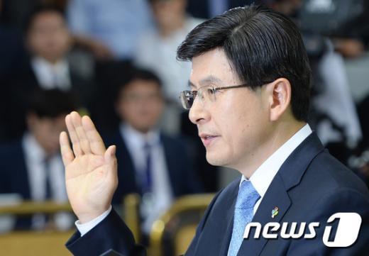 [사진]황교안 청문회... 19금 사건부터 병역문제까지 '검증'