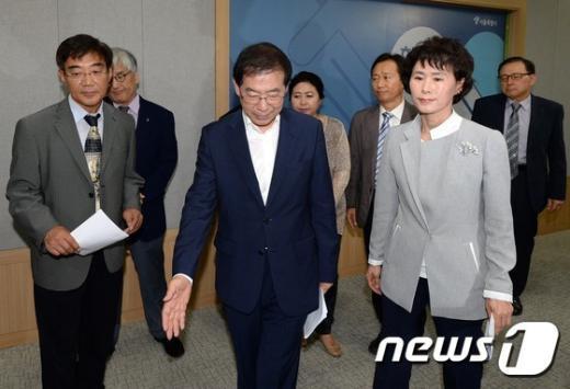 [사진]서울시-서울시 의사협회 '메르스 대책 힘 모았다'