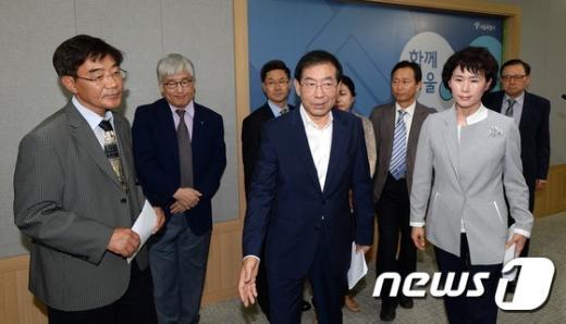 [사진]서울시-의사협회 '메르스 방지 대책 총력'