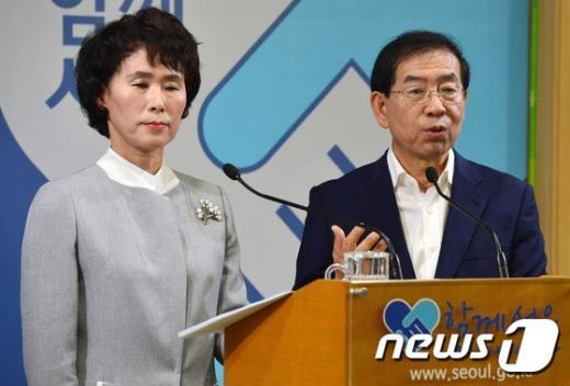 [사진]공동선언문 발표하는 서울시-서울시 의사협회