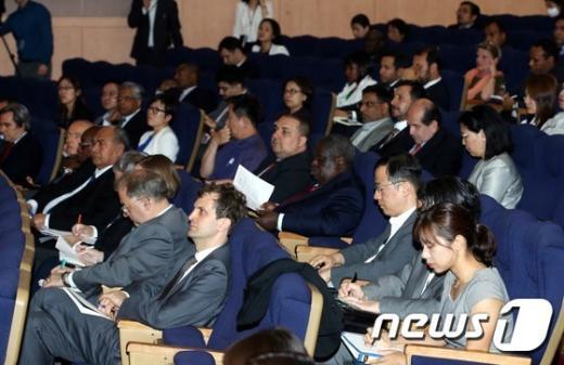 [사진]외교부, 주한 공관 대상 메르스 설명회 개최