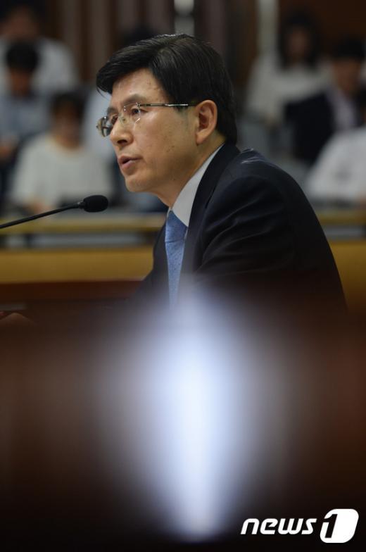 [사진]황교안 총리후보자 '두번째 인사청문회'