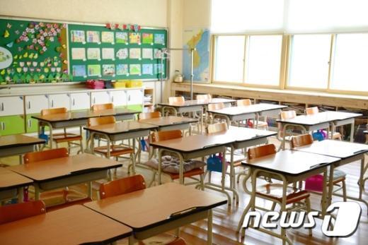 [사진]메르스 '텅빈 교실'