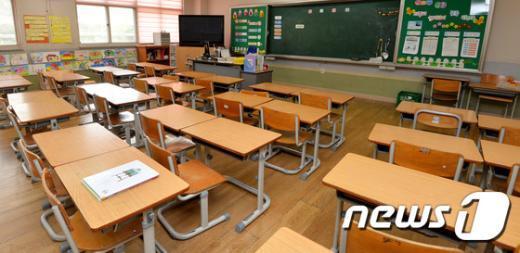 [사진]내일부터 등교 시작하는 '동탄신도시 초등학교'