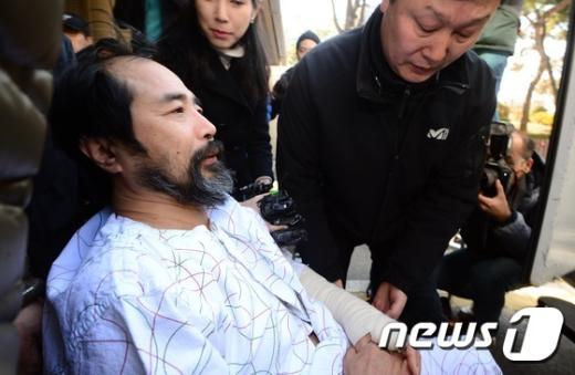 김기종 우리마당독도지킴이 대표. © News1 양동욱 기자