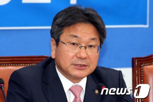 강기정 새정치민주연합 정책위의장.2015.6.16/뉴스1 © News1 이광호 기자