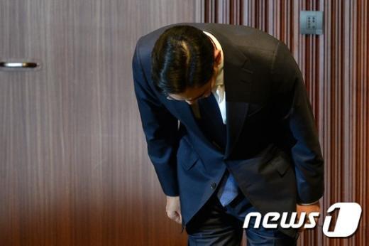 [사진]'메르스 확산 죄송' 고개 숙인 삼성