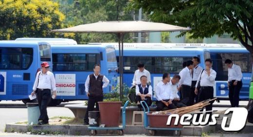 [사진]서울시 버스노조, 25일 총파업 돌입 예고